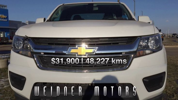 2016 Chevrolet Colorado FOR SALE / White 4LT 4X4 / 17p046