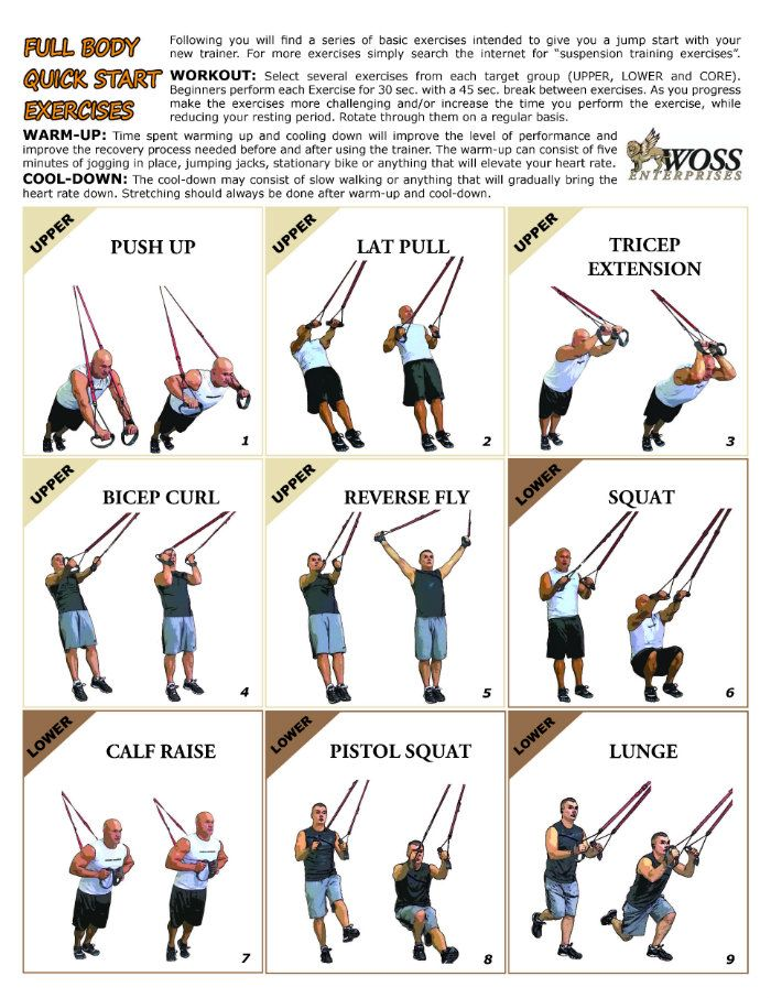 It is a graphic of Amazing Printable Trx Workout