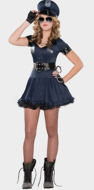 Teen Girls Locked N' Loaded Cop Costume http://fave.co/2cBVkR6