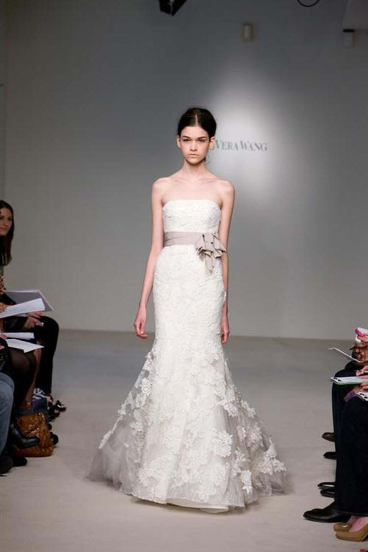 464 best tea length wedding dresses vintage images on for Vera wang classic wedding dress
