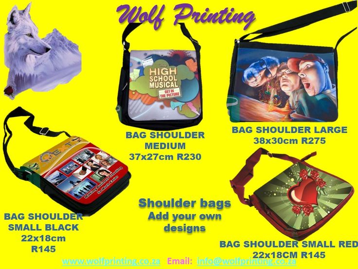 Design your own shoulder bag.