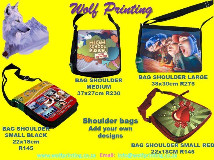 Design your own shoulder bag.
