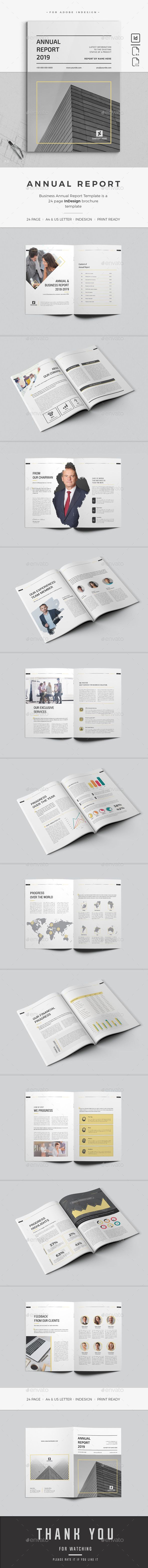 Annual Report — InDesign INDD #financial report #brand • Available here ➝ ...