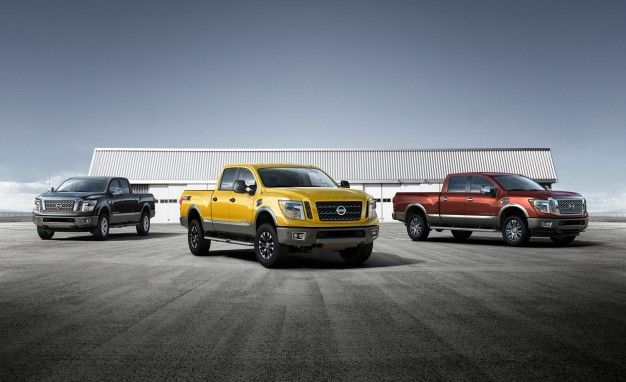 2016 Nissan Titan XDs – debuted at the Detroit Auto Show 2015