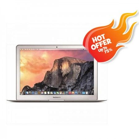 """APPLE MacBook Air 13 MJVG2 Silver - October Hot Offer  Write a review UltraBook for Mobility !!! Intel Core i5-1.6Ghz Turbo 2.6Ghz, RAM 4GB , HDD 256GB SSD, VGA Intel HD 6000, Screen 13.3"""" , OS X Yosemite  see More Product At Http://kliknklik.com/ or http://kliknklik.com/1092-promo-diskon-october-hot-offer-2016/ and http://kliknklik.com/blogs/harga-notebook-terupdate/"""