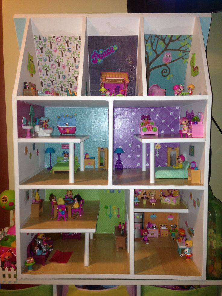 60 best images about dollhouse ideas on pinterest wooden for Dollhouse bedroom ideas