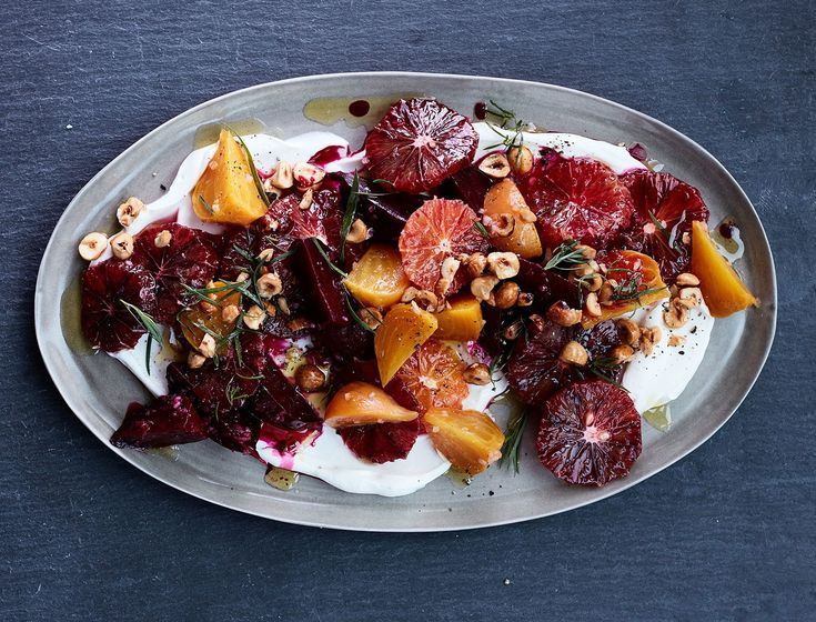 Sweet earthy beets, bright citrus, and tangy yogurt make a light, yet complex side that complements any main course perfectly.