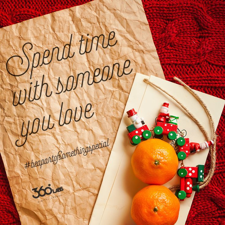 Spend time with someone you love #xmas #xmasspirit #countdown