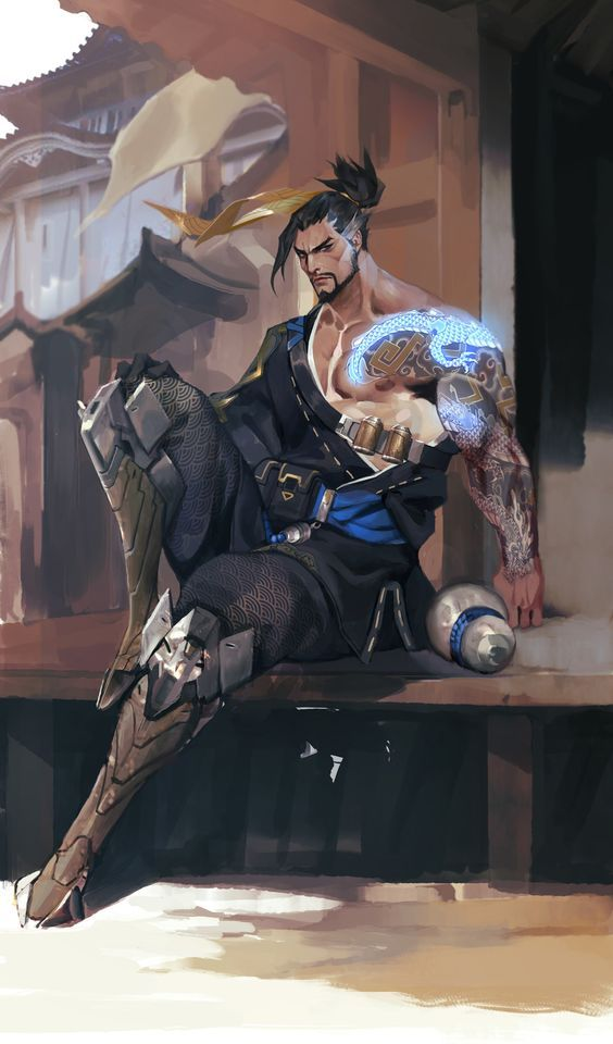 Hanzo - Overwatch | SiaKim on DeviantArt