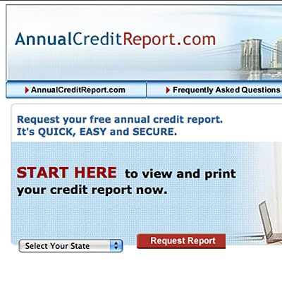 credit reports free annual report