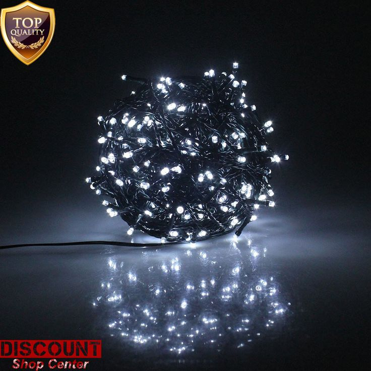 outdoor led christmas lights 300 white battery fairy string tree waterproof new - Newest Christmas Lights