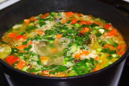 directions for making and canning vegetable soup