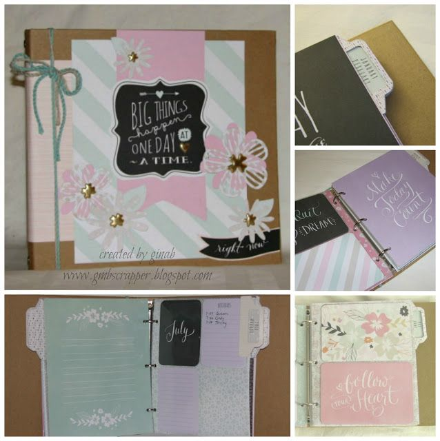 Gina's Little Corner of StampinHeaven: National Papercrafting Month - Live Your Day Blog Hop