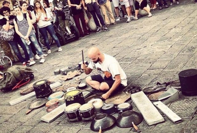 4 of the Most Crowd-Pleasing Street Drummers with Absolute Talent