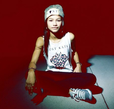 Zendaya Super-Swag In Lost Kats Clothing One of my favorite pictures of Zendaya :)