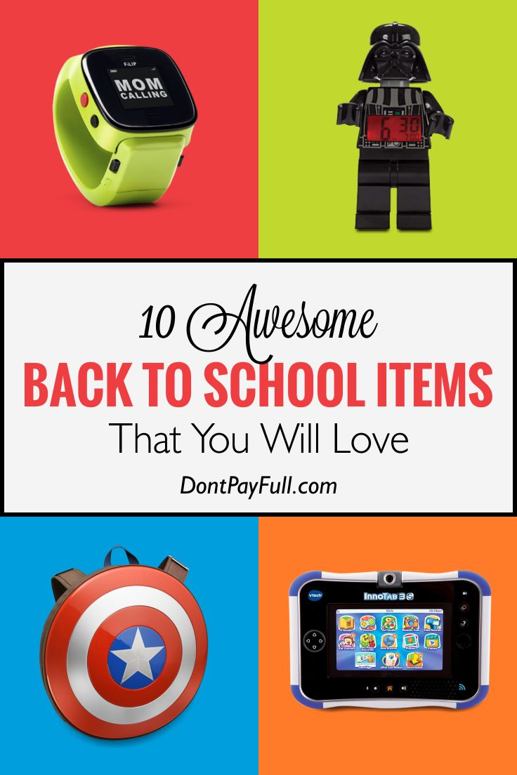 10 Awesome Back to School Items That You Will Love #DontPayFull