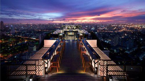 Bucketlists in Every Country: Bucketlist Thailand: Vertigo & Moon Bar Rooftop Di...