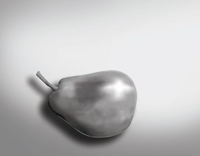 """Check out new work on my @Behance portfolio: """"Academic Exercice. Digital paint, pear."""" http://be.net/gallery/52011947/Academic-Exercice-Digital-paint-pear"""