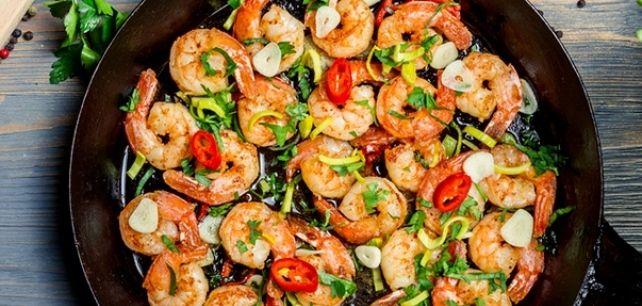 Gambas ao alho no Continente ChefOnline - chef.continente.pt
