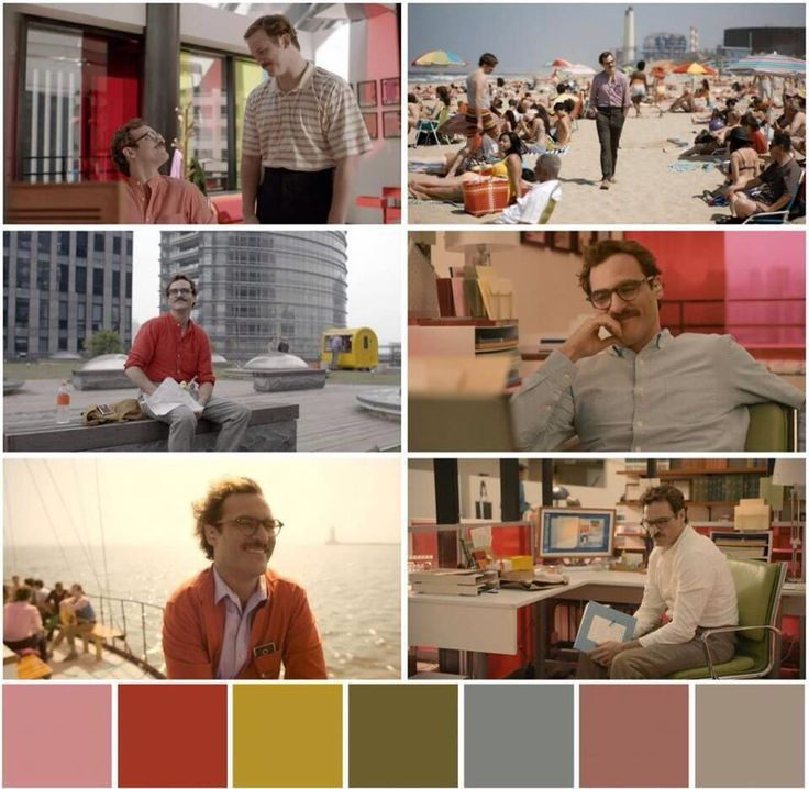 """the colour palette of spike jonze's film """"her"""" (2013) is simply dreamy: pic.twitter.com/NT7Fdqcemf"""