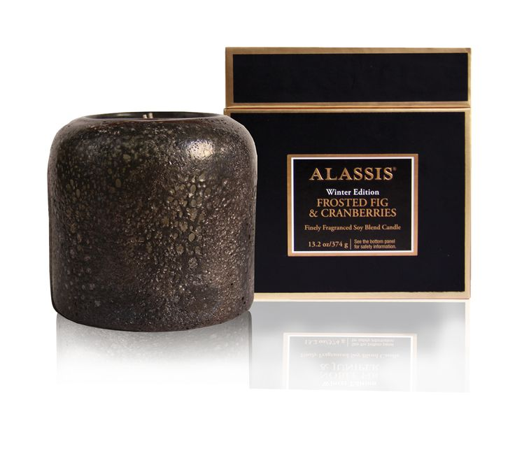 Alassis Holiday Candles. The Alassis holiday collection reflects an ancient yet modern aesthetic, combining natural rustic elements with mixed metals and dazzling statement pieces – for a look that exudes refinement and grace. Sophisticated scents incorporate familiar aromas with contemporary notes – effusing holiday spirit in unexpected ways throughout the celebratory season.
