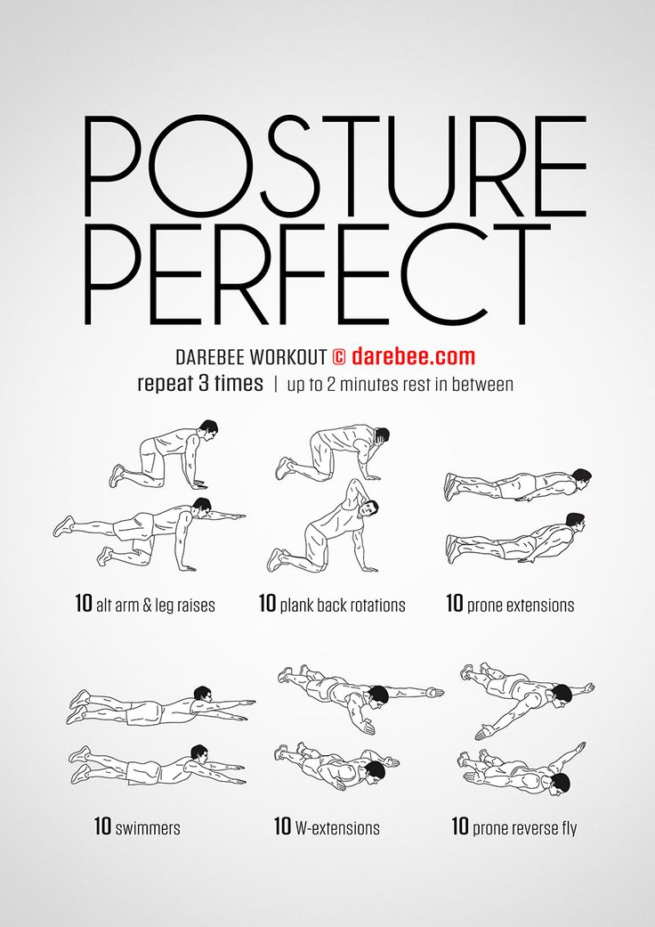 The 25+ best Posture exercises ideas on Pinterest