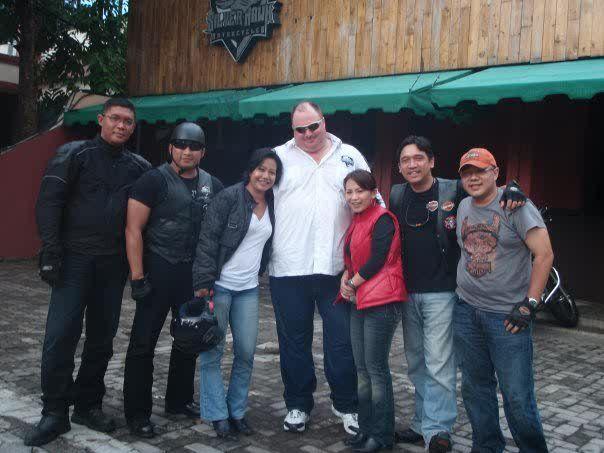 With bro Welly Oka, founder of Silverhawk MC....