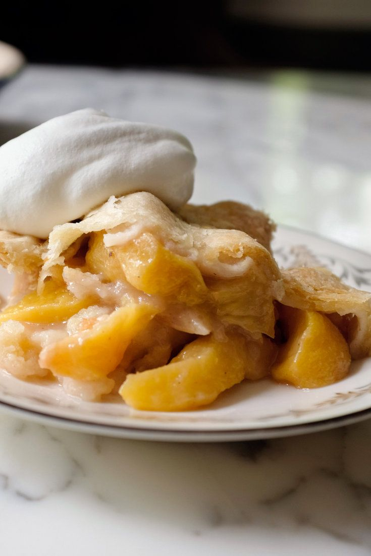 NYT Cooking: This delicious cobbler, which was featured in a Times article about fruit desserts, is designed to let the incandescent flavor of summer peaches shine, and it's best made when they are in season. Edna Lewis, the careful cook from Virginia whose books are considered definitive in the Southern culinary canon, often suggested a lattice top for it, with bits of raw dough tuc...