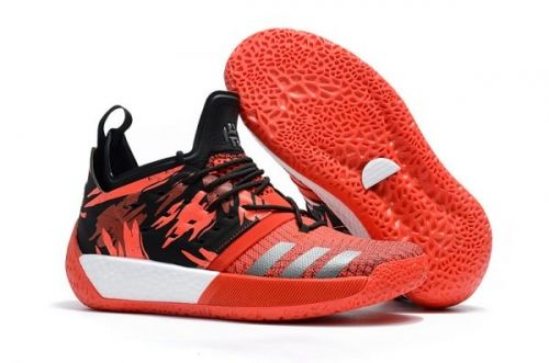 Real 2018 adidas Harden Vol. 2 Traffic Jam Red Black For Sale - ishoesdesign db99cc8fd0