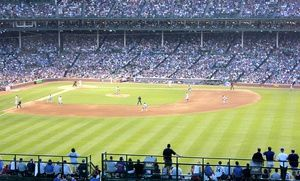 Groupon - Rooftop Tickets with Food & Drinks for a Cubs Home Game at Wrigleyville Rooftops (Up to 51% Off). 15 Games Available. in Multiple Locations. Groupon deal price: $79