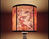 Hawaiian Pinup Lamp Shade Lampshade pin up