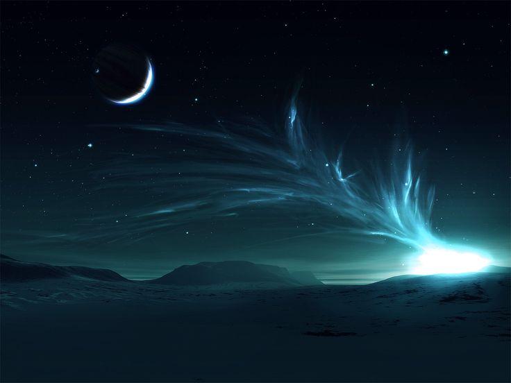 .Moon, Dreams, Nature, Northernlights, Aurora Borealis, Northern Lights, Wallpapers, Nightsky, Night Sky