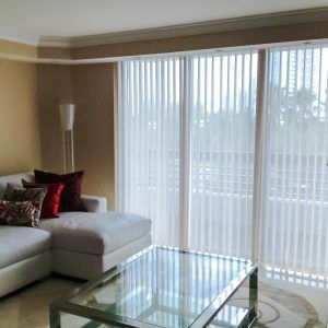 Brown Vertical Blinds For Windows