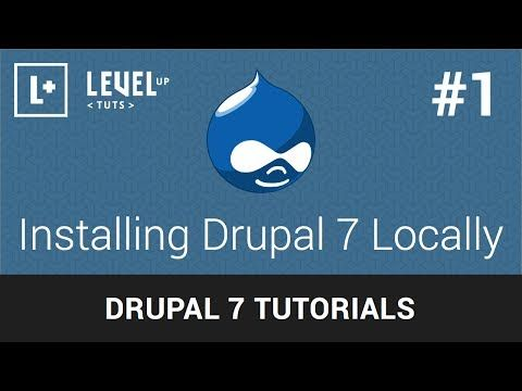 Drupal 7 Tutorials Have you ever felt too intimidated by Drupal? This YouTube video series starts at the very basics of the popular content management system Drupal 7 and will work it's way up to advance functionality. No prior Drupal knowledge is required!