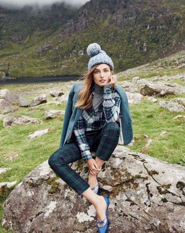 We're Swooning Over J.Crew's Holiday Shoot in Ireland | WhoWhatWear UK