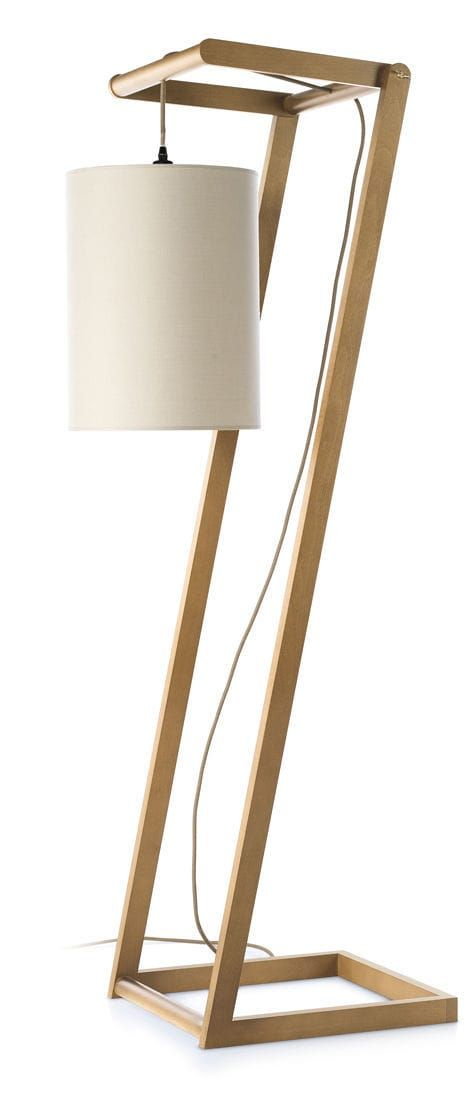 lampe sur pied contemporaine en bois home kendo envy lighting decor ideas pinterest. Black Bedroom Furniture Sets. Home Design Ideas