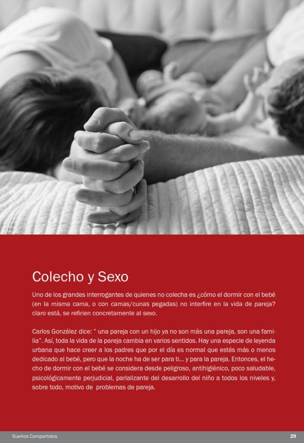 """Título: Sueños Compartidos Subtítulo: Mitos y verdades del """"cuco"""" de la crianza con apego: el colecho http://mamikanguro.com/suenoscompartidos.php"""