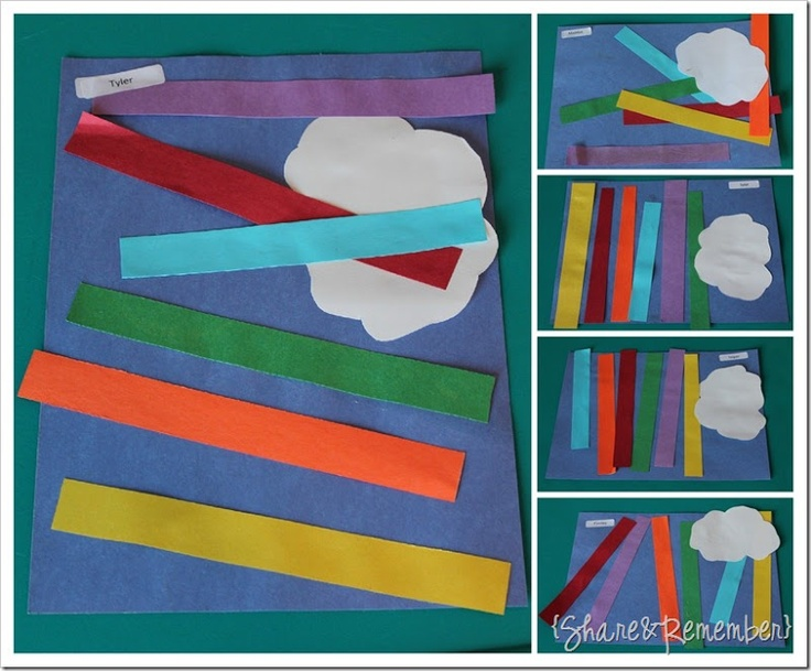 rainbow craft ideas for preschoolers 133 best images about preschool theme on 7085