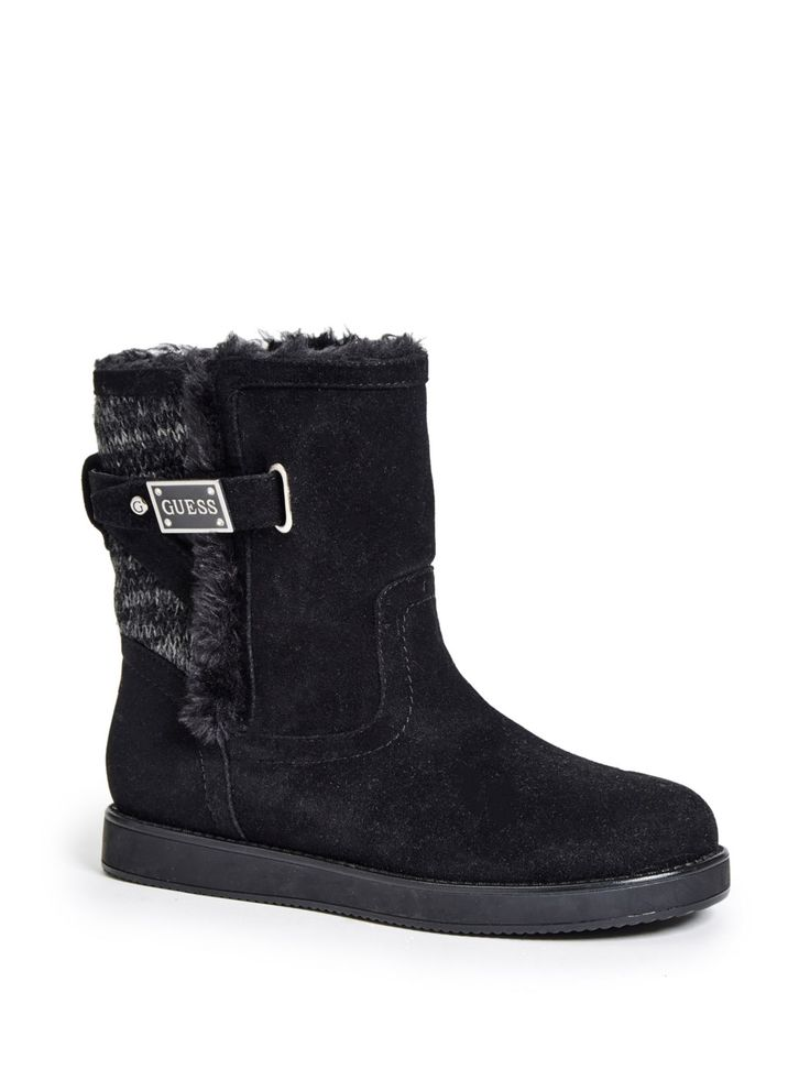 Analee Faux-Shearling Boots