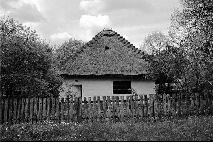 https://flic.kr/p/HchmxP | Old Village House | Muzeum Wsi Lubelskiej, Skansen, Lublin, Poland, May 2016  Yashica 300 AF, Yashica 28mm F2.8, Fujucolor C200