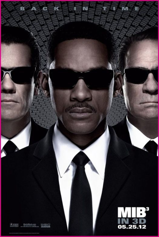 "New Movie Posters 2012 | Here's a new movie poster for the third ""Men In Black"" movie ..."