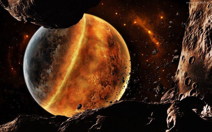 Kosmos, Meteoryty, Planeta