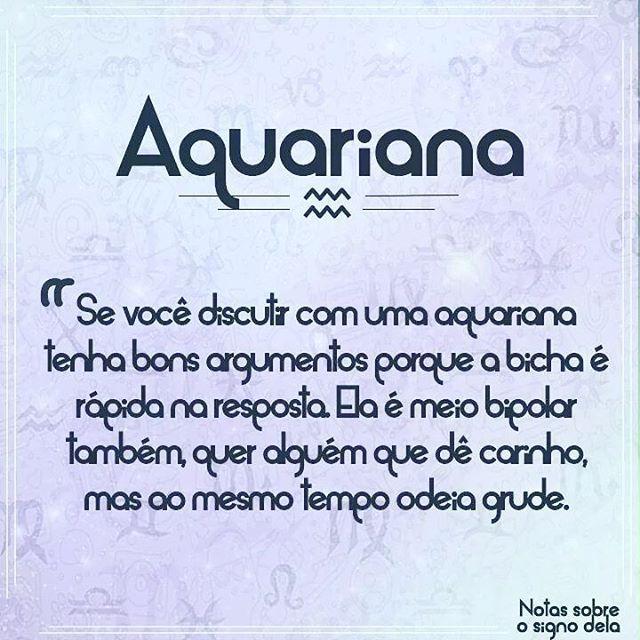 Será verdade? #signos #aquariana #sera #boanoite