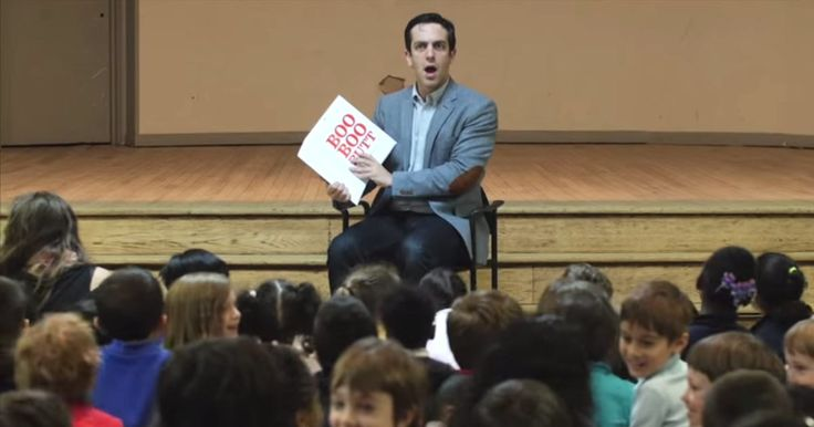 This man slays a room full of kids with 'The Book With No Pictures...'