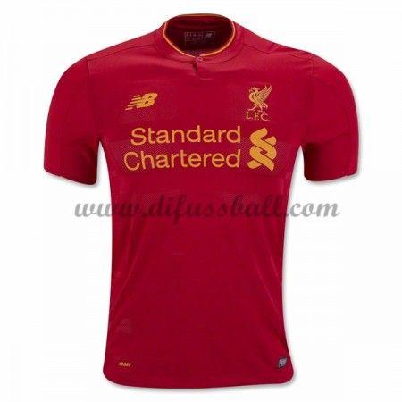 Neues Liverpool 2016-17 Fussball Trikot Kurzarm Heimtrikot Shop