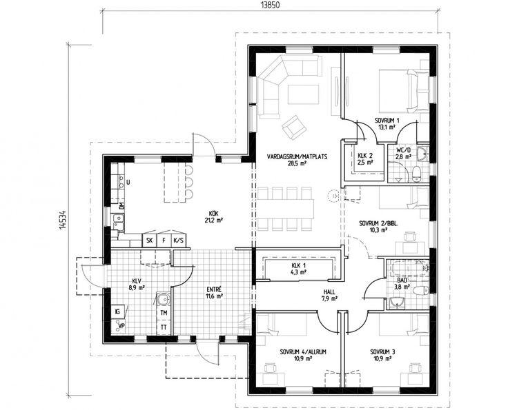 LB Optimal 143 | Arkitektritade & moderna hus när du ska bygga eget hus | LB-Hus