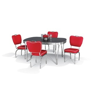 Dining Sets Retro And 5 Piece Dining Set On Pinterest