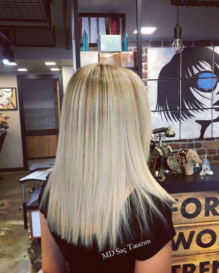 Hair Color 💕 #balyaj #saç #kuaför #izmir #trend #trendhair #blonde #blondme #hair #hairstyle #hairdesign #hairlove #sactasarim #instahair #efsanesaclar #hairftheday #picoftheday #fashion #me  #hairfashion #haircolor #mdsactasarim @mdmetindemir