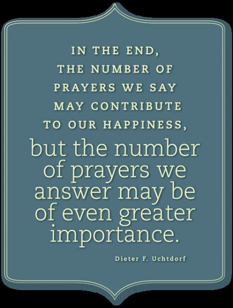 Prayers & Happiness