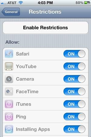 40 iPhone tips and tricks everyone should know - Enable restrictions for kids (or adults) - CSMonitor.com